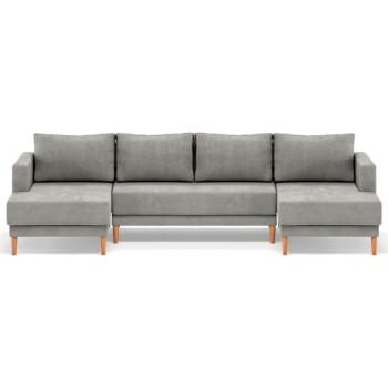 Твист диван угловой п-образный