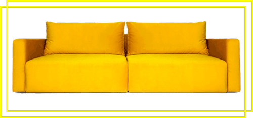Большие и длинные прямые диваны
