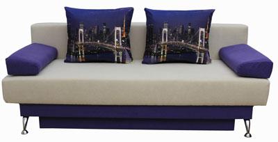 синий диван кровать форсаж